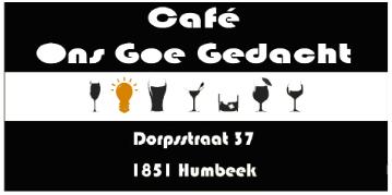Café Ons Goe Gedacht